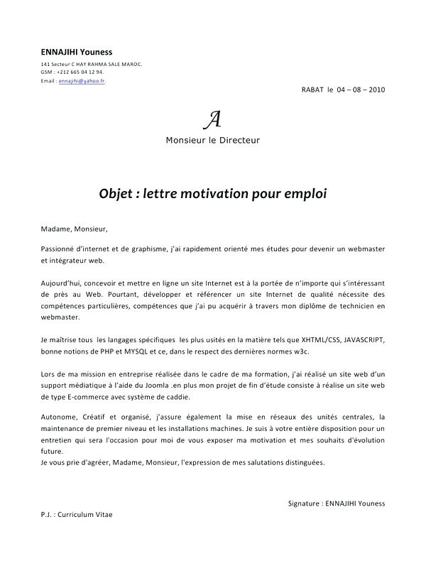 Image lettre de motivation au maire lettre de motivation