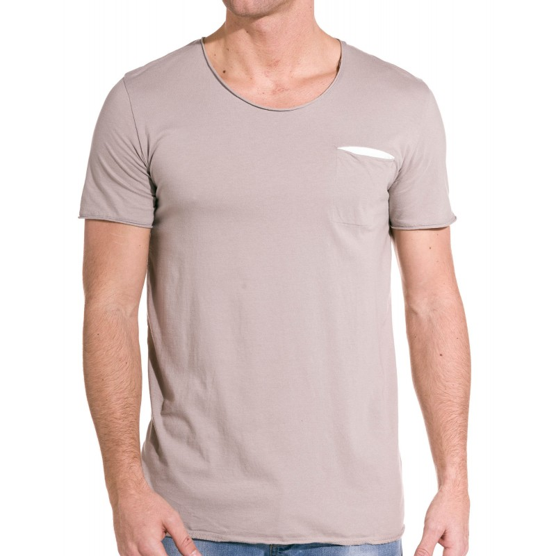 T shirt col rond homme